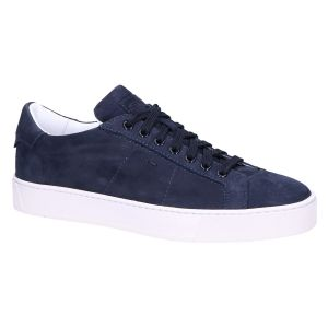 21012 Sneaker dark blue soft nubuck