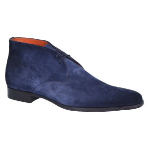 7416 Veterboot blue cashmere suede