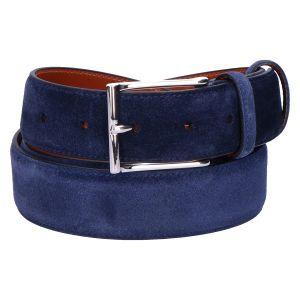 CM35 Riem blue cashmere suede