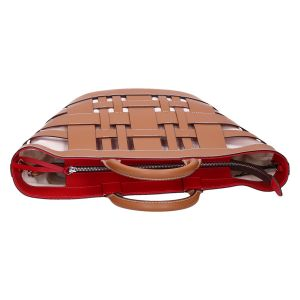 Gea BS 8486 cuoio/rosso 46x30x15 cm