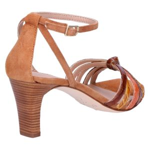 Manur Sandalet 6.5 cm bruin multi