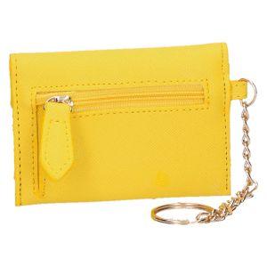 Salamandra Creditcard case geel 10x7 cm