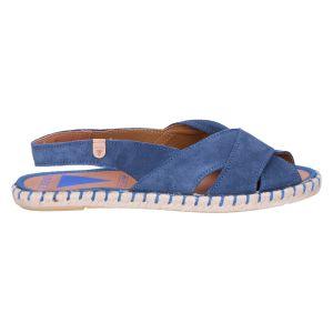 Cala Sandaal iris/jeans suede
