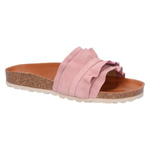 Rocio Slipper/Slide antique rose suede