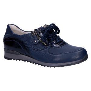370022 Hurly Sneaker blauw hirsch