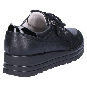 758001 H-Lana Sneaker zwart hirsch/suede