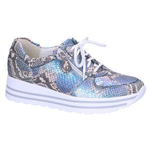 758004 H-Lana Sneaker blauw multi snake
