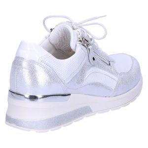 939011 H-Clara Sneaker wit zilver