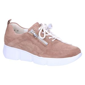 735001 H-Lou Sneaker taupe suede