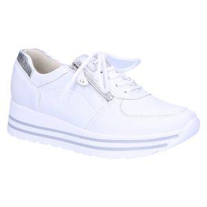 758001 H-Lana Sneaker wit leer