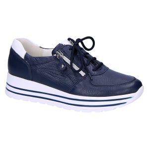 758009 H-Lana Sneaker blauw cervo