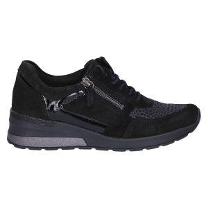 939H01 H-Clara Sneaker sleehak stretch