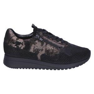 10191 Annabel Sneaker black kombi dessin