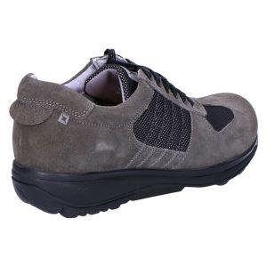 30029 England Sneaker greyblack suedecombi