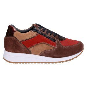 10197 Lize sneaker brown/bronze