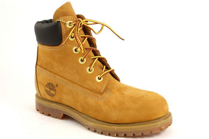 6in premium boot wheat nubuk