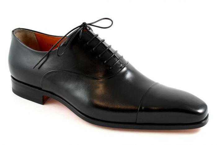 11643 Boris Veterschoen black leather