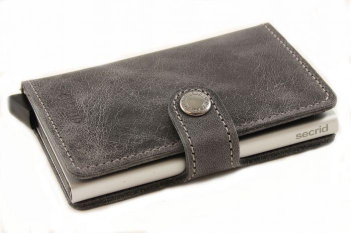 Miniwallet grey vintage