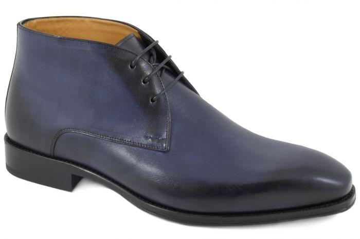 10103 Veterboot blue calf