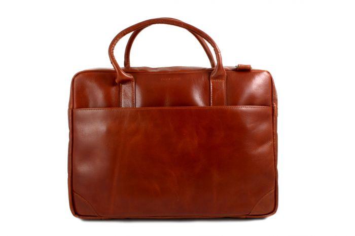 Explorer Laptop Bag Single cognac